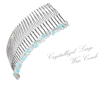 Crystallized Large Wire Comb